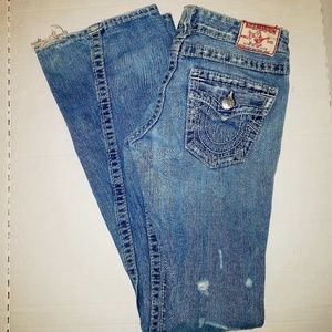 ❣PRICE DROP❣True Religion Distressed Jeans